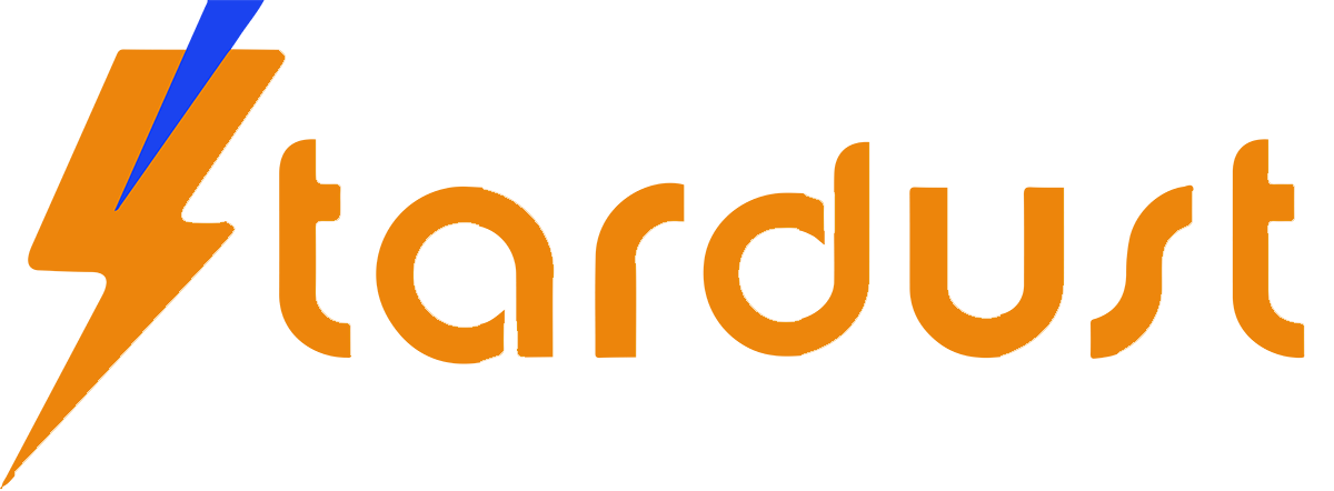 logo stardust orange