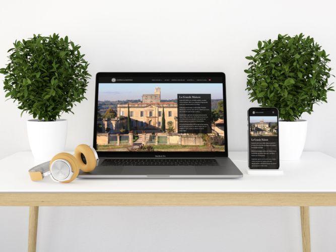 Site internet Chateau de Montfrin