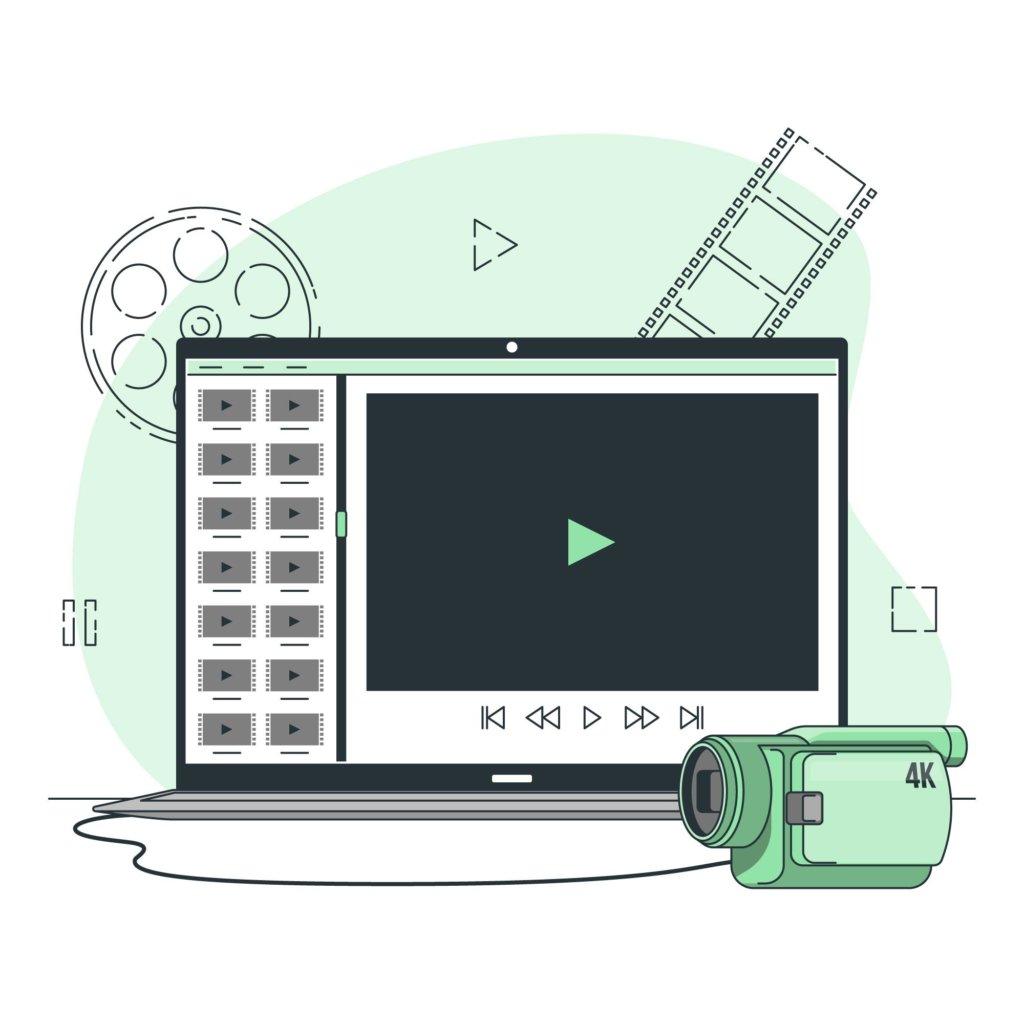 Image d'illustration montage vidéo