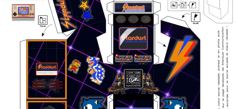 Borne d'arcade Stardust Communication