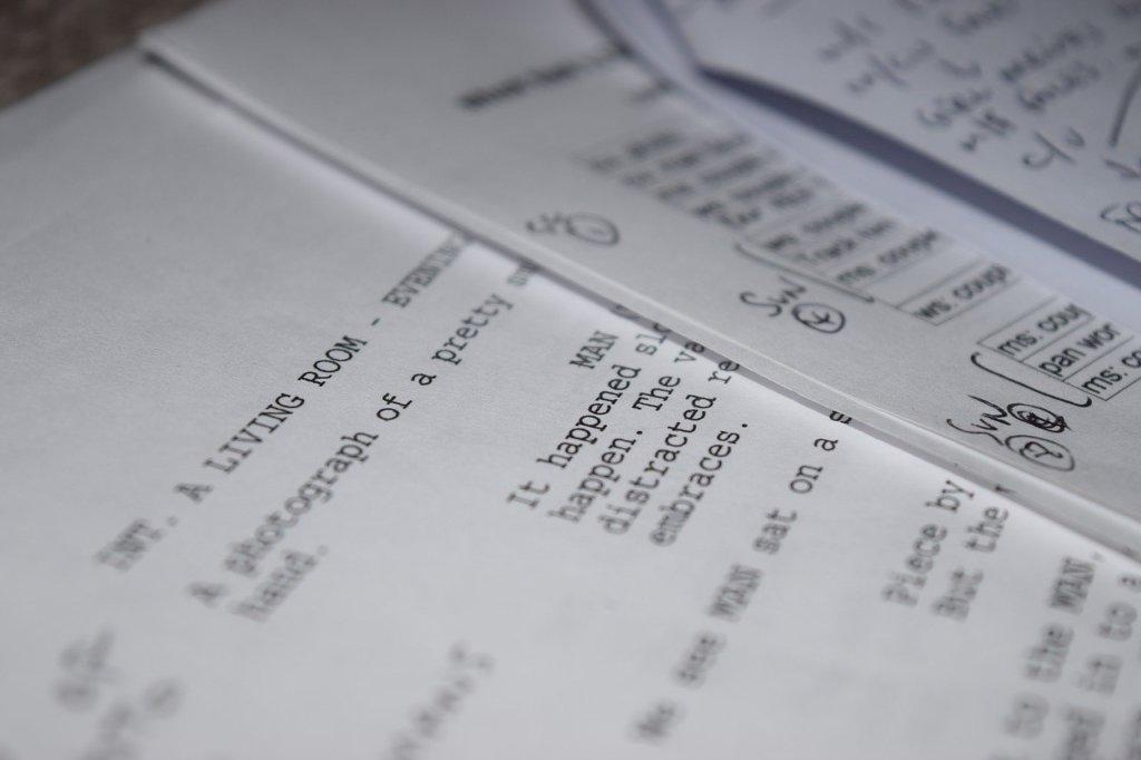 Script motion design
